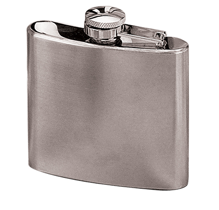 5 oz. Stainless Steel Flask-0
