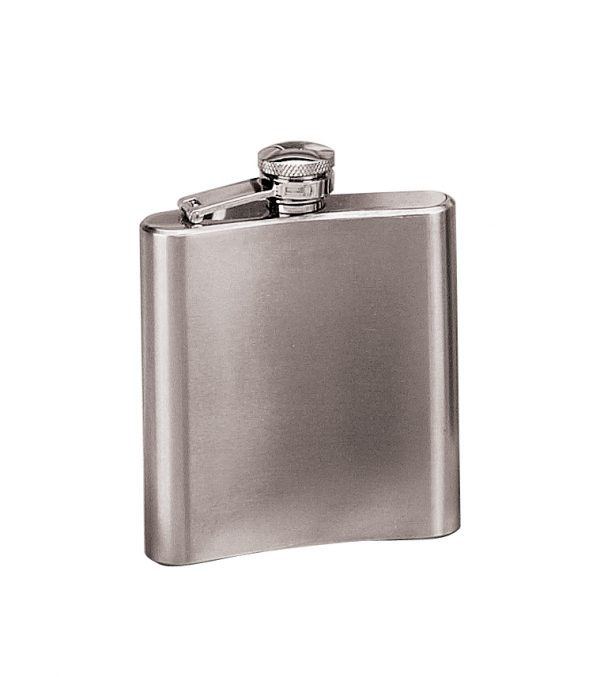 6 oz. Stainless Steel Flask-0