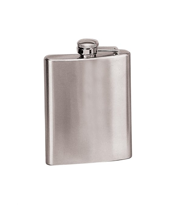 7 oz. Stainless Steel Flask-0