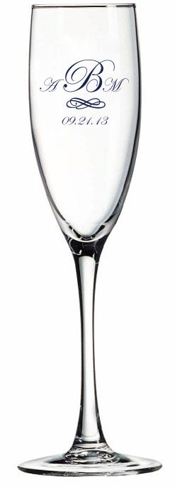 5.75 oz Montengo Champagne Flute-0