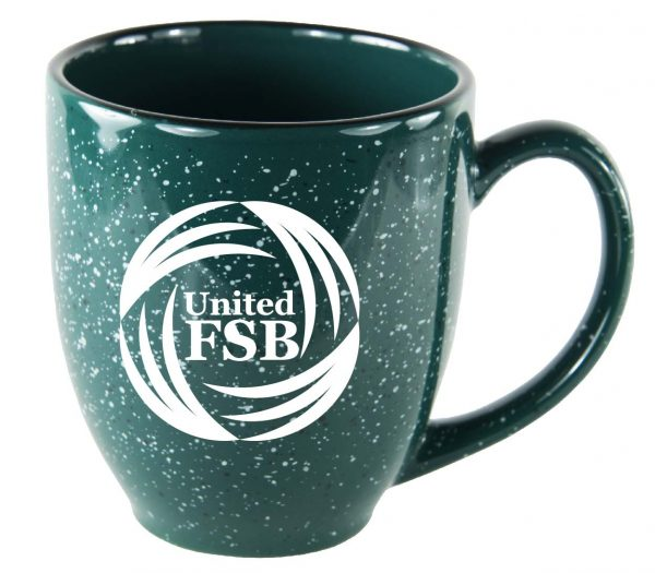 Speckled Bistro Mug 15 oz. | Item #1276-2593