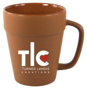 Terra Cotta Flower Pot Mug 14 oz. | Item #CF122182MF-0