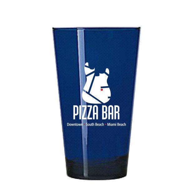 17 Ounce Blue Pint Glass-0