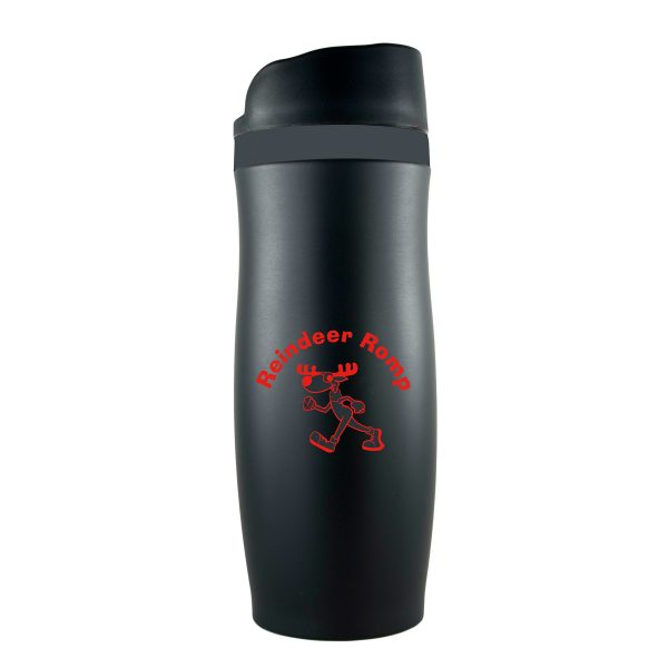 The Force Vacuum Sealed Thermal Double Walled Stainless Steel Travel Tumbler- 14 oz.-2277