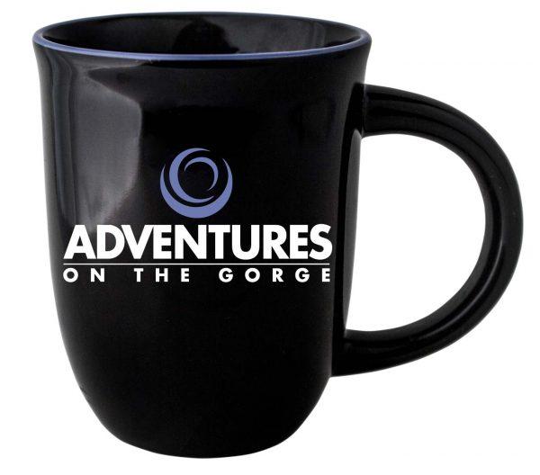 14 oz. | Black Mug with Color Lip-0