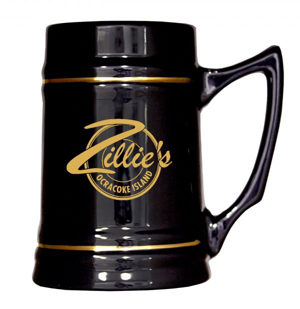 24 oz. Stein Mug with Gold Bands-4350