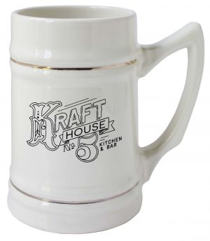 24 oz. Stein Mug with Gold Bands-0