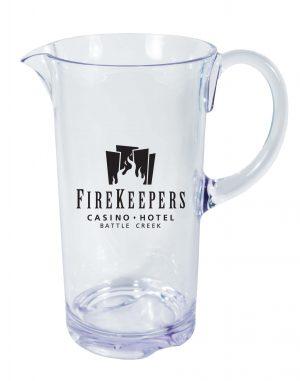 Acrylic Outdoor Drinkware 55 oz. Pitcher-0