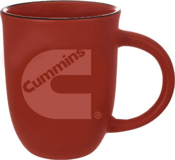 14 oz. Colorful Matte Outside with Gloss Inside Mug-3550