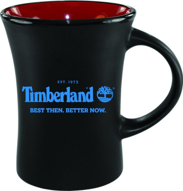 10 oz. Black Matte Mug with Colorful Inside-4437