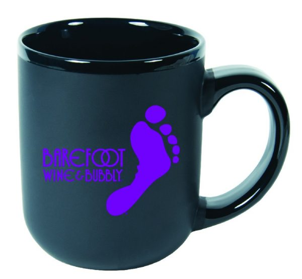 16 oz. Matte Mug with Gloss Trim-4448
