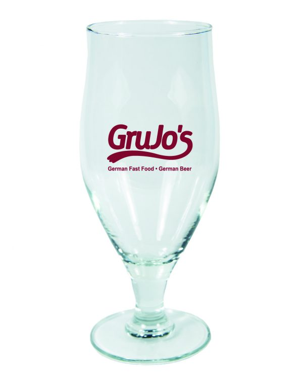 16.75 Ounce Cervoise Footed Beer Glass-0