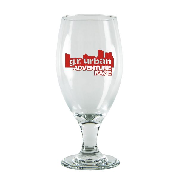 14.75 oz. Footed Tear Drop Beer Glass-0