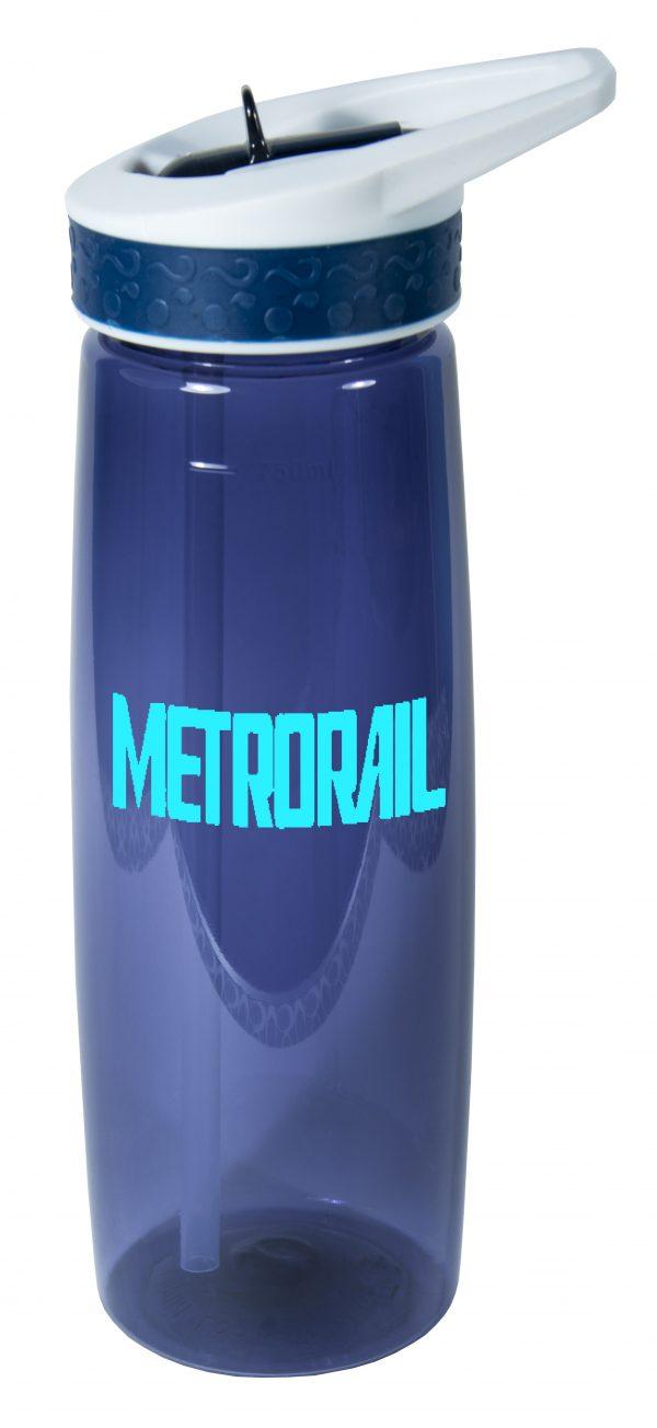 16031 25 Ounce Leak & Spill Proof Bottle with Flip Straw-4251