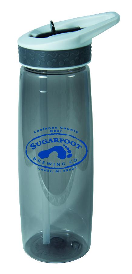 16031 25 Ounce Leak & Spill Proof Bottle with Flip Straw-4237