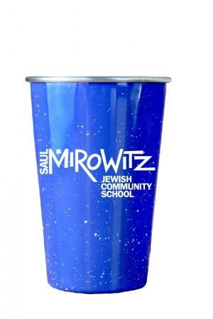 16 oz. Color Stainless Steel Pint with Speckle/Campfire Finish-0