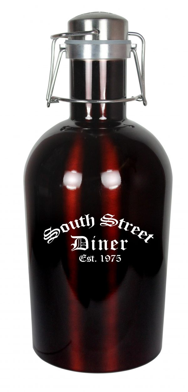 64 Ounce Colored Stainless Steel Growler-4559